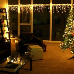 Pictures Of Living Room Decorated For Christmas Latest Designs 2018 How To Use Lights In Indoor Decor