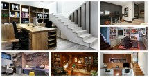 Functional Basement Home Offices