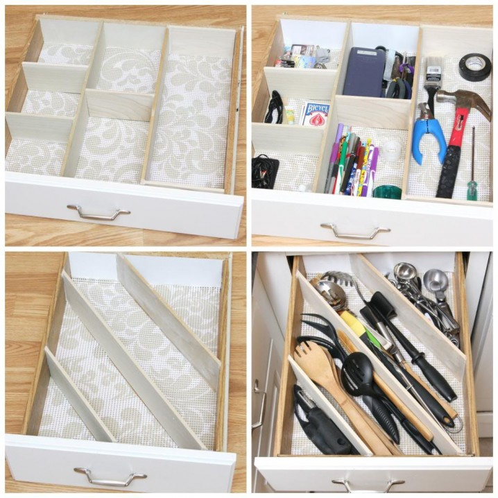 kitchen utensil organizer table sets with matching bar stools brilliant diy drawer organizers that will make your life ...