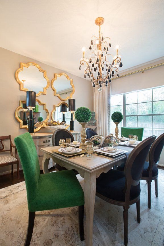 15 Dining Rooms With Mismatched Dining Chairs You Need To See