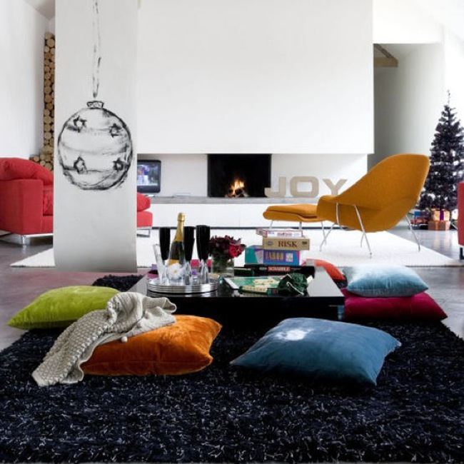 living room pillows floor decor with dark furniture how to use cushions in your home for ultimate relaxation