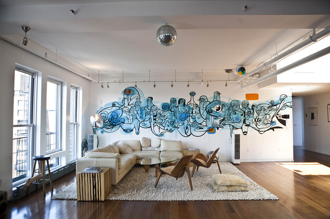 Gorgeous Indoor Graffiti Designs That Will Blow Your Mind