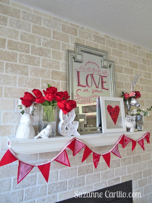 Lovely Valentine's Day Decorations That Are Totally Easy To DIY