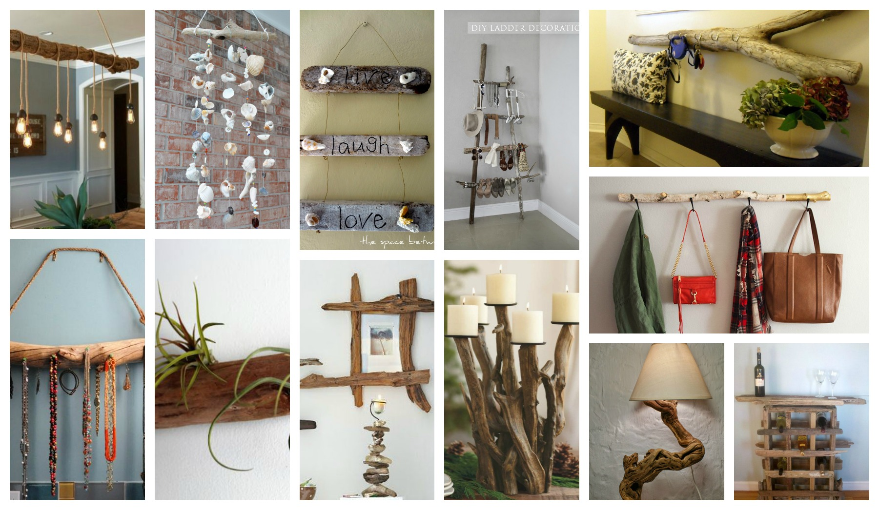 Absolutely Amazing DIY Driftwood Projects That Are Easy To