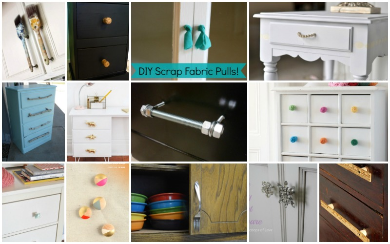 kitchen cabinet design ideas conversion calculator low cost diy drawer pulls, knobs and handles you can ...