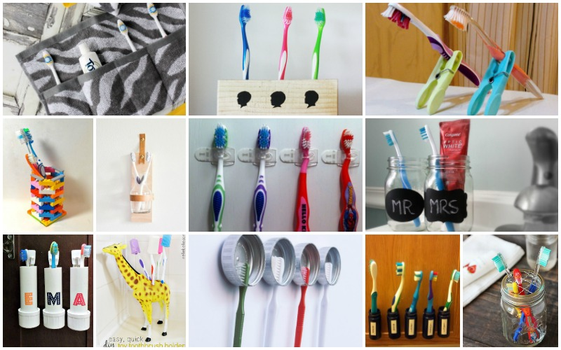 Creative DIY Toothbrush Holders You Can Whip Up In No Time
