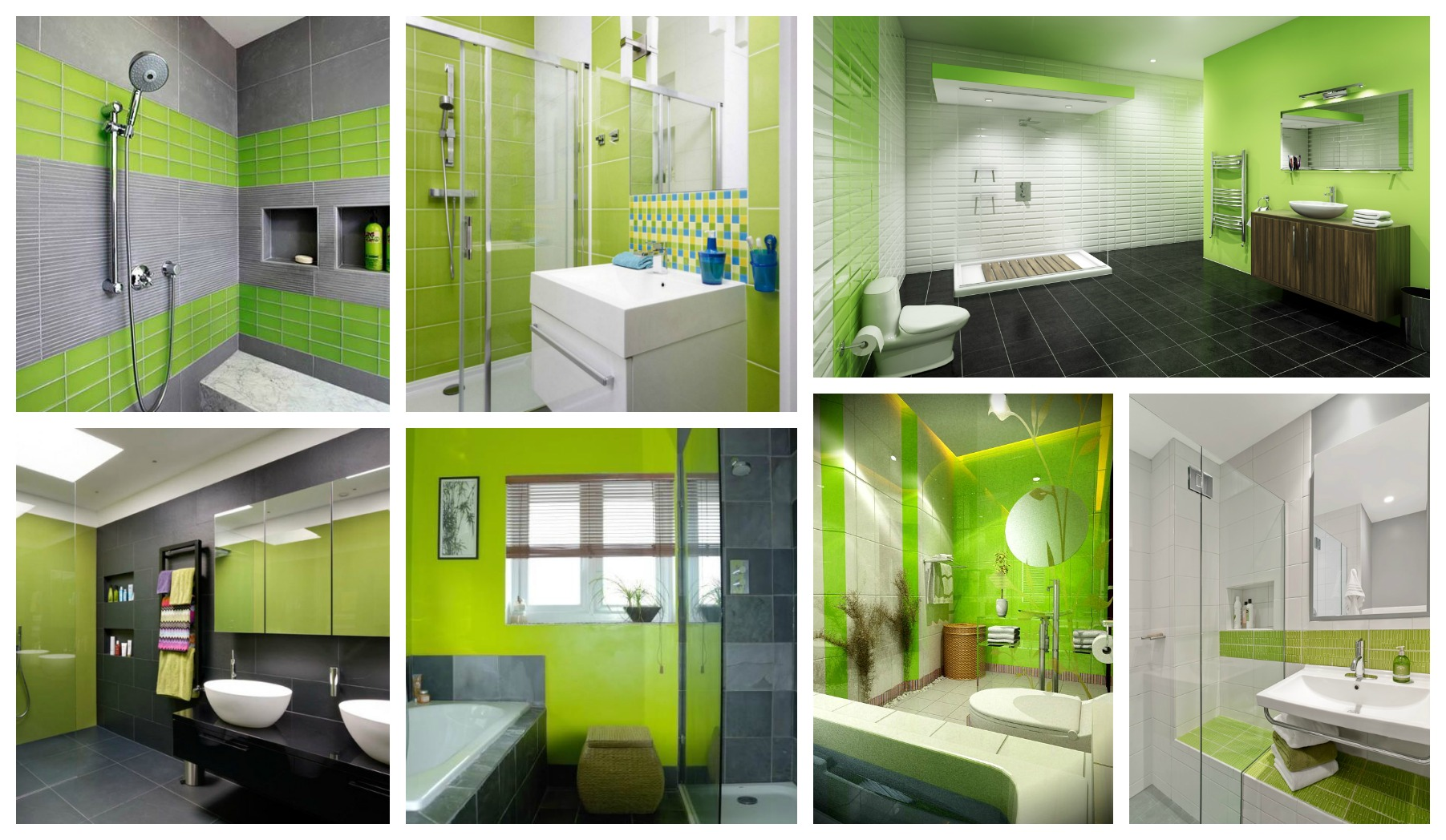 Amazingly Refreshing Lime Green Bathrooms That You Will Love