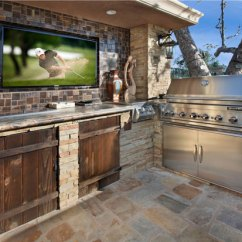 Outdoors Kitchen Movable Cabinets Ultra Modern Outdoor Kitchens That Will Fascinate You For Sure