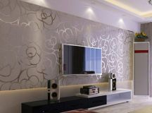 16 Modern TV Wall Decorations That Will Fascinate You