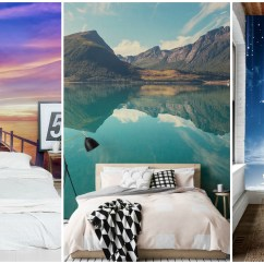 Images Of Living Room Wall Decor Island Inspired Furniture 10 Astonishing Murals That Will Make Your Bedroom ...