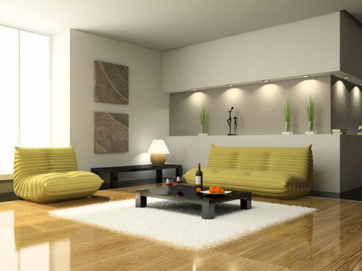wall lighting living room ideas best flooring for open plan kitchen decorative niches the you need to see