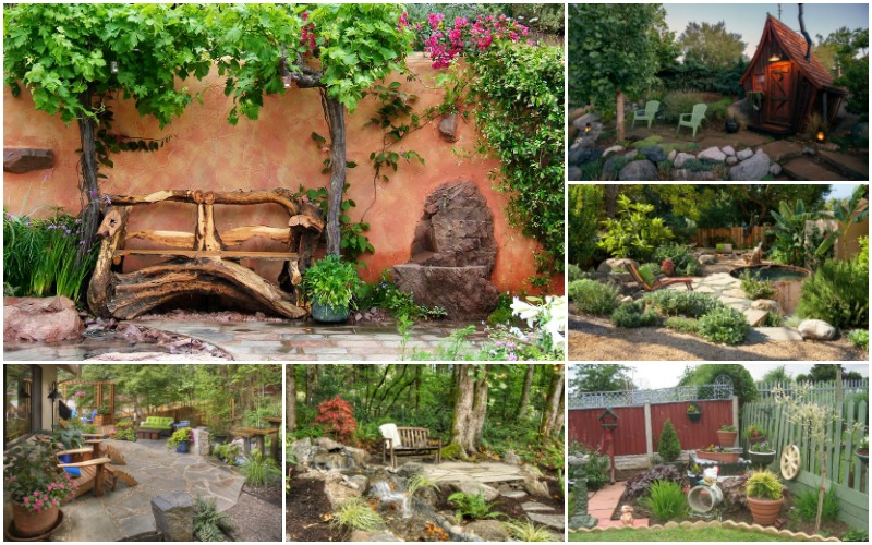Wonderful Rustic Landscape Designs Only For Your Eyes