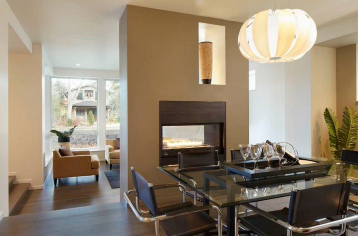 Awesome DoubleSided Fireplaces As Stylish Room Dividers