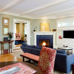 Living Room Arrangement Ideas With Corner Fireplace Best Coffee Table For Small Clever Tips To Decorate Around Fireplaces