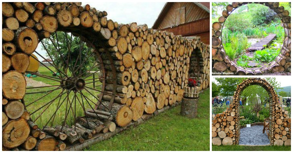17 Cordwood Fences That Will Blow Your Mind