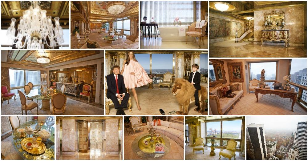 Inside Donald Trumps Luxury Apartments