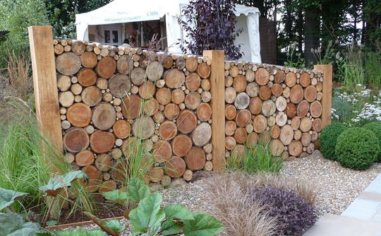 Cordwood Fences That Will Blow Your Mind