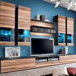 Wooden Wall Units Living Room Decorating Ideas Black Leather Couch 16 Wood Tv You Must See