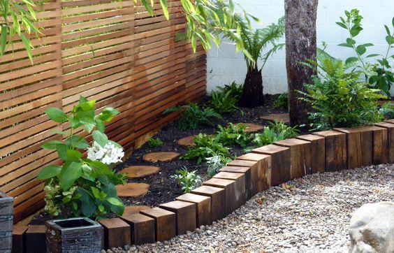 Wooden Garden Edging Ideas You Must See