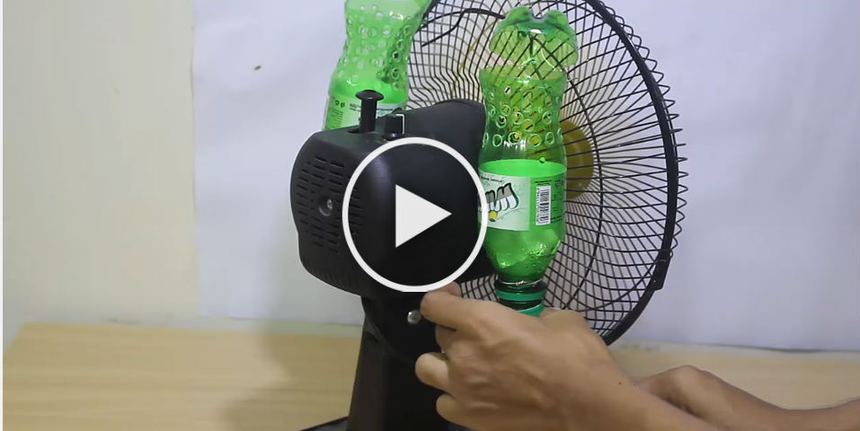 The Amazing DIY Plastic Bottle Air Conditioner That Went Viral