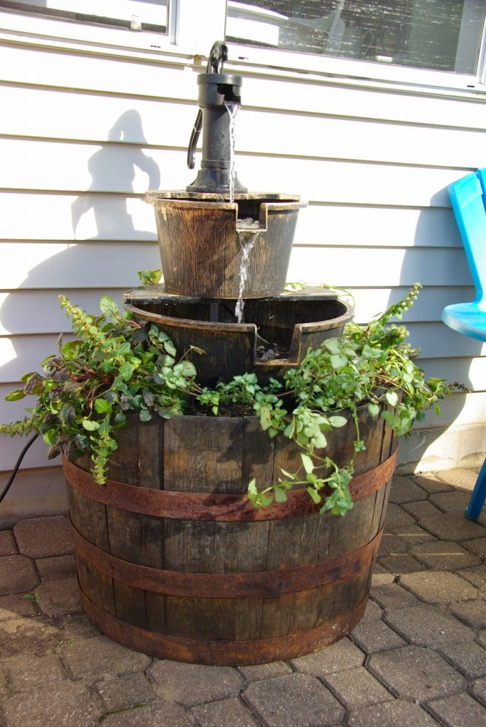 Budget Friendly Wine Barrel Fountains Perfect For Your