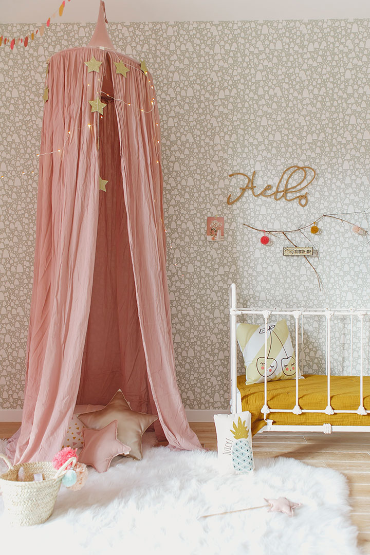 Pastel Color Bedroom Will Make Your Little Girl Feel Like A Princess