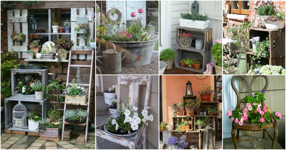 Repurposed Garden Decor Ideas For The DIY Enthusiasts
