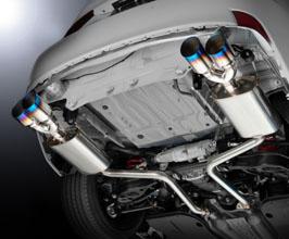 rowen premium01tr quad tail exhaust system titanium for lexus is350 is250 is200t 2016 2020