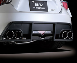 blitz nur spec vs quad exhaust system for blitz rear stainless for toyota 86 brz 2013 2020