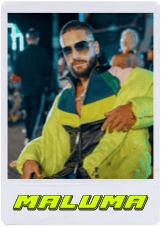 Maluma Polaroid Top Entretenimiento