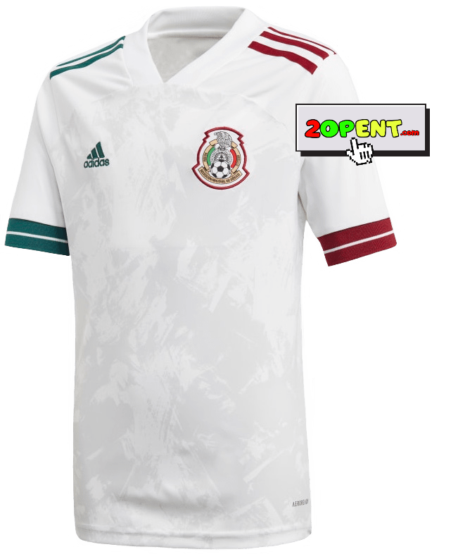 Adidas Mexico Authentic Away Jersey 2020