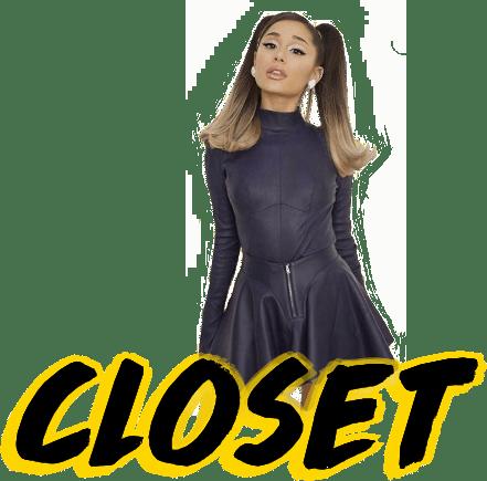 Ariana Grande Top Closet