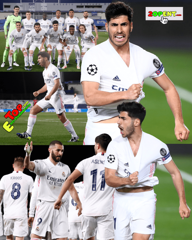 Marco Asensio Real Madrid Liverpool Champions League 04-06-2021