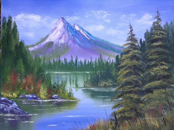 Mountain Scenery Paintings