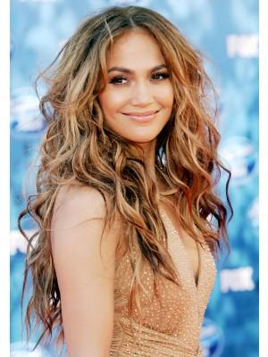 Jennifer Lopez Locken Spitzenfront Synthetische Perücke Kaufen Mode