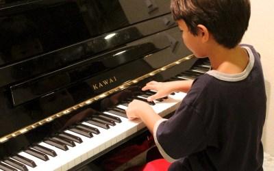 apprendre le piano à son enfant