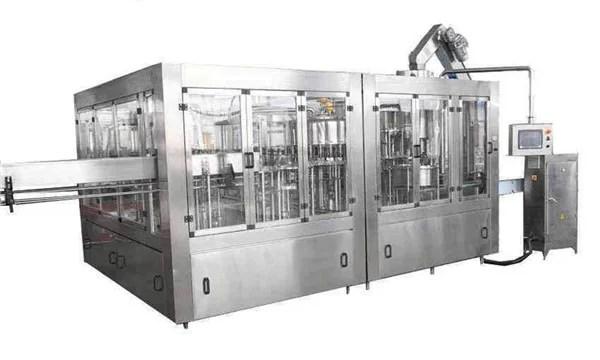 Linea automatica per riempimento olio di cocco 8000BPH