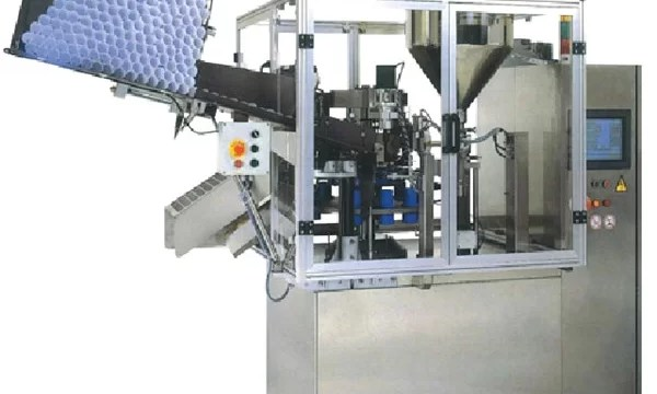 Automatic Filling And Sealing Machine for Plastic and Laminated Bottle