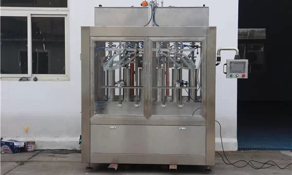 Automatic Jam Bottle Filling Machine
