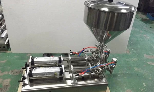 Widely Used Double Heads Strawberry Jam Filling Machine