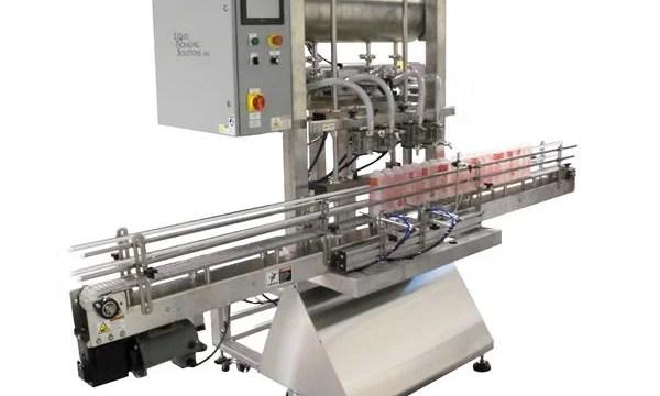 Automatic Bottle Piston Filling Machine