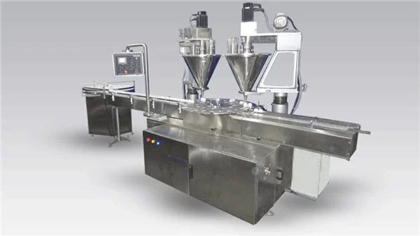 6-Head Full-Automatic Coffee Filling Up Machine Powder