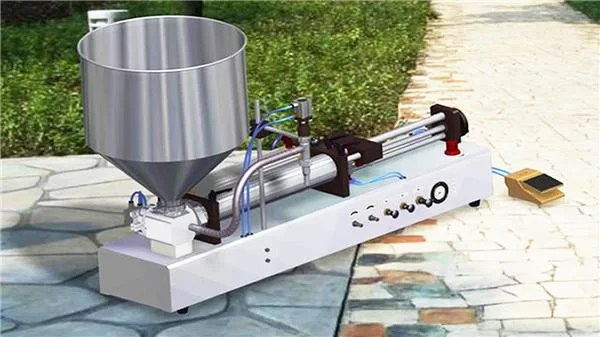 Semi-Automatic Detergent Liquid Filling Machine
