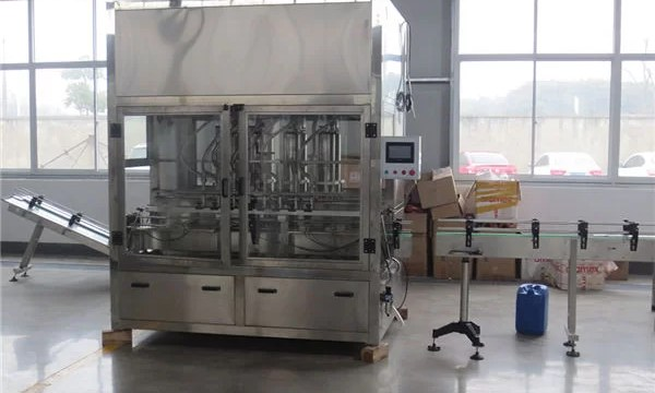 Supplier Automatic Iron Can Filling Machine
