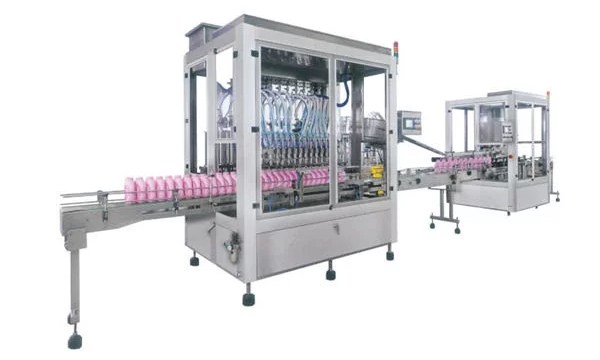 Full Automatic Liquid Soap Detergent Shampoo Filling Machine