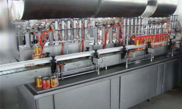 Double-Head Full-Automatic Chili Paste Filling Machine