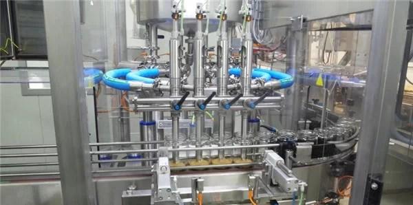 Macchina di riempimento automatico di pasta di pomodoro ad alta efficienza