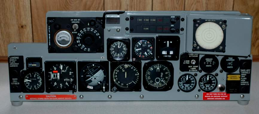Ac Dc Light Wiring F 4 66 7529 Phantom Rear Instrument Panel