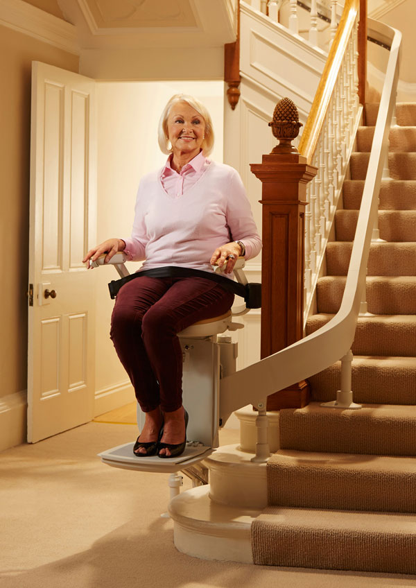 CURVED STAIRLIFTS  TOP FLIGHT STAIRLIFTS