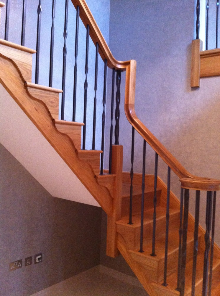 Image Result For What Are The Parts Of A Staircase